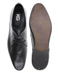KG by Kurt Geiger - Black Kg By Kurt Geiger Carnival 2 Perforated Lace-up Shoes for Men - Lyst