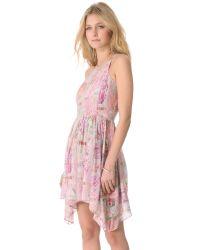 Talulah - Pink Moon Stars Dress - Lyst
