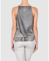 Aviu - Gray Top - Lyst