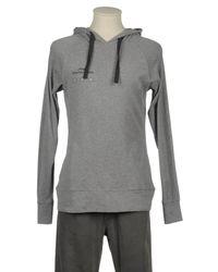 Etiqueta Negra Gray Hooded Sweatshirt for men