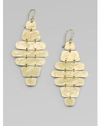 Ippolita | Metallic Glamazon 18K Yellow Gold Disc Cascade Drop Earrings | Lyst