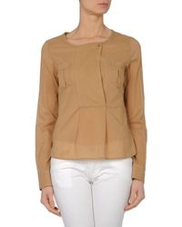 See By Chloé - Brown Blouse - Lyst