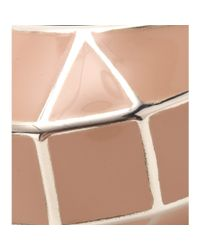 Bottega Veneta | Pink Sterling Silver Ring | Lyst