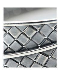 Bottega Veneta Metallic Double Intrecciato Bracelet