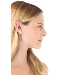 Chan Luu - Metallic Cross Earrings - Lyst
