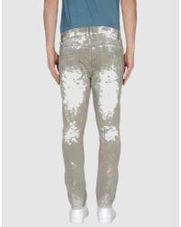 Edun Gray Denim Trousers for men
