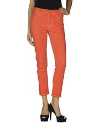 Goldsign Red Denim Trousers