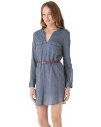 Joie Blue Rathana Dress