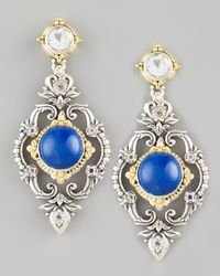 Konstantino | Blue Lapis Chandelier Drop Earrings | Lyst