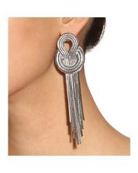 Lara Bohinc - Metallic Saturn Earrings - Lyst