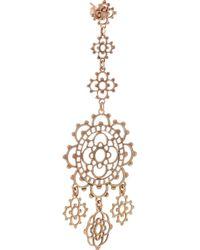 Laurent Gandini - Metallic Torcello 9karat Rose Gold Earrings - Lyst