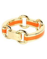 Michael Kors | Orange Link Bracelet | Lyst