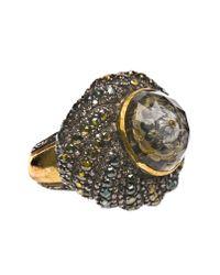 Sevan Biçakci   Yellow 24K Gold Ring With Lemon Topaz And Diamonds   Lyst