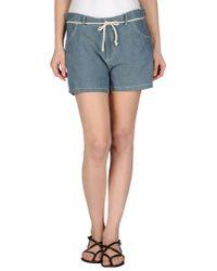 Swildens Blue Denim Shorts