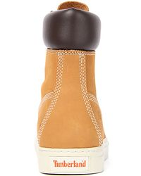 Timberland - Brown The 6 20 Cupsole Boot in Wheat Nubuck for Men - Lyst