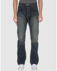 Wesc | Blue Denim Trousers for Men | Lyst