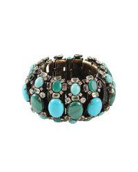 Iradj Moini | Blue Malachite and Turquoise Segment Bracelet | Lyst