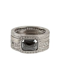 Todd Reed | Metallic White Diamond Eternity Ring for Men | Lyst