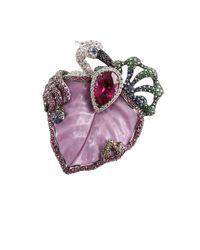 Wendy Yue - Purple Phosphosiderte Leaf Ring - Lyst