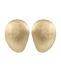 Yvel Metallic Medium Handmade 18k Yellow Gold Earrings