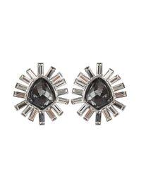 Alexis Bittar | Gray Bel Air Starburst Earrings | Lyst