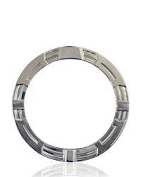 Balmain Metallic Metal Circle Bracelet