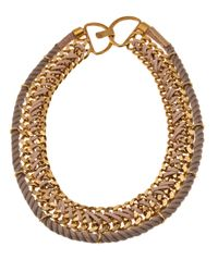 Lizzie Fortunato | Metallic La Belle Necklace | Lyst