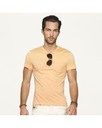 Ralph Lauren Black Label Orange Short Sleeved Pocket T-Shirt for men