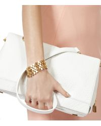 Reiss - Metallic Alicia Metal Chain Bracelet - Lyst