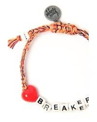 Venessa Arizaga - Orange Heart Breaker Bracelet - Lyst