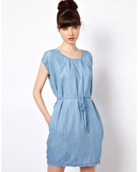 Won Hundred Blue Jeans Inky Dress in Tencel Denim