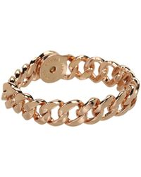 Marc By Marc Jacobs | Pink Turnlock Small Katie Bracelet | Lyst