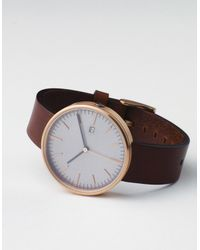 Uniform Wares | Metallic 203 Pvd Rose Gold Walnut | Lyst