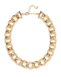 BaubleBar | Metallic Gold Ice Chain Collar | Lyst