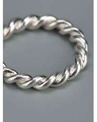 Helena Rohner Metallic Twister Ring