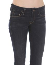 Mother | Blue The Looker Jeans | Lyst