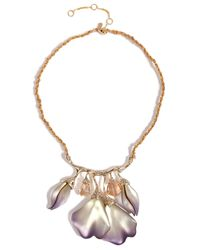 Alexis Bittar | Purple Lavender Ophelia Goldtoned Jeweled Garden Necklace | Lyst