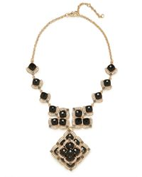 BaubleBar | Black Onyx Merle Necklace | Lyst