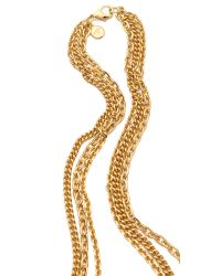 Ben-Amun - Metallic Portofino Layered Pendant Necklace - Lyst