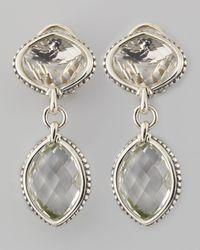 Lagos | Metallic Venus Drop Earrings Rock Crystal | Lyst