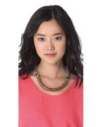 Orly Genger By Jaclyn Mayer - Brown Elinore Necklace - Lyst