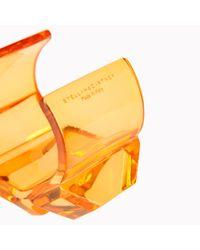 Stella McCartney Multicolor Transparent Plexi Bangle