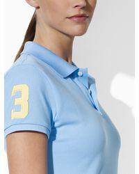 Ralph Lauren Golf Blue Val Big Pony Polo