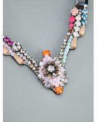 Shourouk - Multicolor Shourouk Tabatha Necklace - Lyst