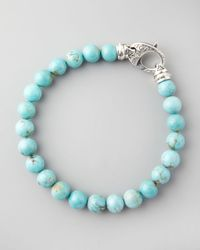 Stephen Webster | Blue Beaded Turquoise Bracelet 8mm for Men | Lyst