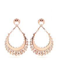 Iam By Ileana Makri | Metallic Figaro Pendant Earrings | Lyst