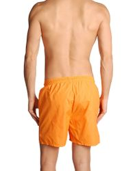 Cheap Monday Orange Swimming Trunk for men