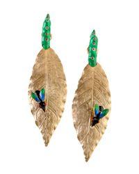 Delfina Delettrez | Green Earrings | Lyst