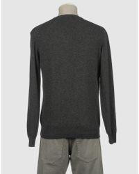 Della Ciana Gray V-neck for men