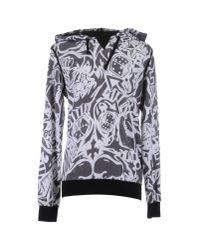 Dolce & Gabbana - Black Carretto Siciliano Print Hoodie for Men - Lyst
